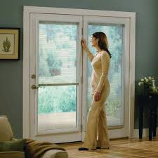 odl 20 in x 64 in add on enclosed aluminum blinds in white for