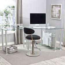 Glass And Wood Computer Desk Glass Wood Computer Desk Glass Top Pc Desk Round Glass Desk Small
