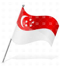 Singapore Navy Flag Singapore Clipart Pinart Flag Of Singapore Wavy Flag Of