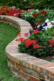 Raised Planter Beds by Brick Raised Planter Bed Curved And Perfect For Small Yard