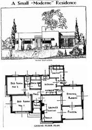 House And Floor Plan The Suburban The Small Home Of Tomorrow Paul R Williams