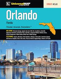 Orlando Florida Zip Codes Map by Orlando Fl Street Atlas Kappa Map Group 9780762585069 Amazon