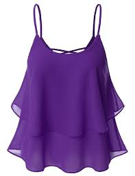 lavender blouses doublju casual solid color sleeveless big size tank top