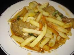 recette de cuisine algerienne blanquette de poulet a la sauce cuisine algerienne bordjienne