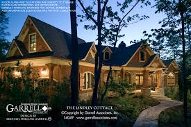 prairie style house design lindley cottage house plan house plans by garrell associates inc