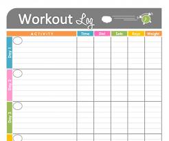 free printable weekly planner template free printable workout calendar printable calendar 2017