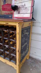 vintage rustic wine rack chalk paint wine racks pinterest