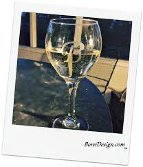 Diy Monogram Wine Glasses How To Create Beautiful Etched Monogram Glassware On A Dime
