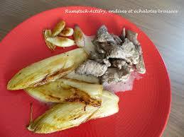 cuisiner les endives rumsteck actifry endives et échalotes braisées croquant fondant