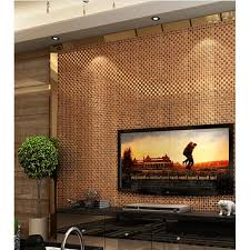 Mirror Backsplash Tiles by Brown Mirror Glass Diamond Crystal Tile Square Wall Backsplash