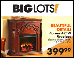 Electric Fireplace At Big Lots by Big Lots Corner Fireplace Fireplace Ideas