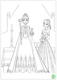 frozen coloring pages anna kristoff 112