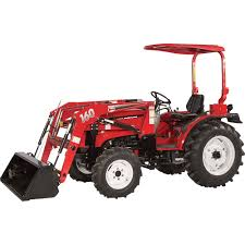 nortrac 35xt 35 hp 4wd tractor with front end loader u2014 with ag