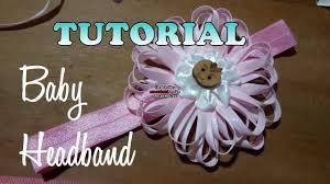 headband baby murah diy membuat baby headband tutorial by lista tsurayya