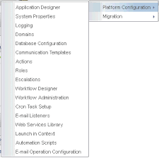 change or modify the go to menu application positions interpro