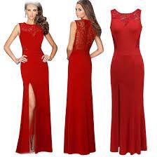 women lady fashion peplum long dress party dresses on luulla