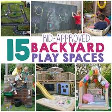 Backyard Play Area Ideas 15 Backyard Play Space Ideas For Lil Moo Creations