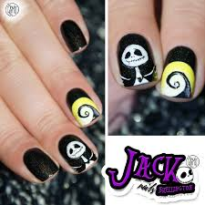 nightmare before christmas nail art tutorial request youtube the