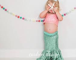 Mermaid Halloween Costume Toddler Mermaid Costume Etsy