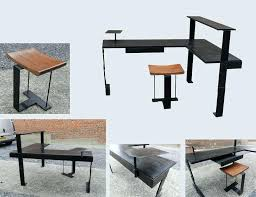 bureau metal et bois bureau metal et bois bureau en mal bureau bois metal ikea