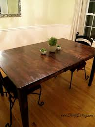 furniture exciting colossal diy fail rustic dining room table