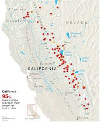 Snow Map Usa an epic 500 year snow fail in california u0027s iconic mountains