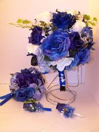 black white and bluewedding wedding table decorations petals