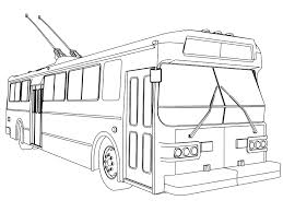 bus coloring pages wecoloringpage