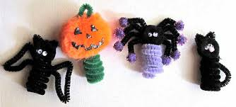 Kids Halloween Crafts Easy - halloween kids crafts easy finger puppets woo jr kids activities