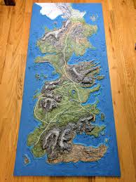 Interactive Westeros Map Homemade Topographic Game Of Thrones Map Of Westeros Album On Imgur