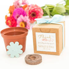 wedding seed favors mini seed paper flower garden gift set personalized wedding favors