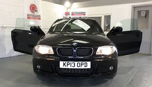 black bmw 1 series bmw 1 series 118d sport plus edition for sale from walmersley