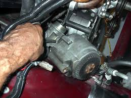 replacing and relocating the alternator with a cs 130