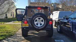 jeep jk led tail light bulb rugged ridge wrangler led tail light set 12403 85 87 06 wrangler yj
