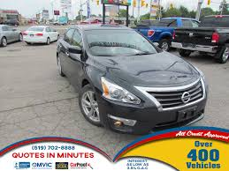 nissan altima 2016 moonroof used 2013 nissan altima for sale london on
