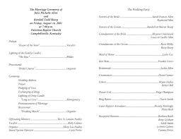 wedding program templates free designs free wedding program templates with design with
