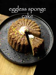 eggless sponge cake recipe eggless vanilla cake recipe in cooker