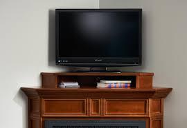 amish corner electric fireplace tv stand corner electric
