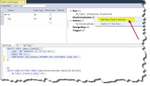 sql server create table primary key t sql check constraints technet articles united states english