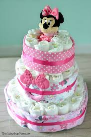 diper cake minnie mouse cake tutorial