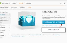android sdk eclipse installing android sdk tools eclipse tutorial