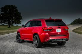 red jeep 2015 jeep grand cherokee srt adds 5hp red vapor special edition