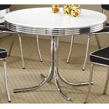 1950s chrome kitchen table and chairs chrome dining furniture sets ebay