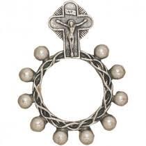 catholic rosary ring catholic rosary rings leaflet missal