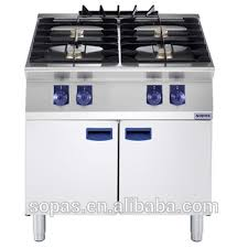 Modular Gas Cooktop Sopas Modular Cooking Range Stainless Steel Industrial 4 Burner