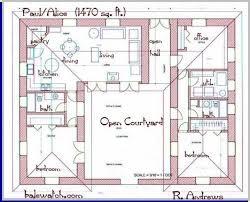 courtyard house designs house plan design ideas
