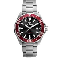 tag heuer watches tag heuer 300m aquaracer quartz mens watch 43mm way101b ba0746
