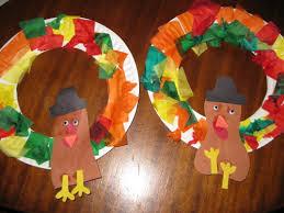 Thanksgiving Wreath Craft Thanksgiving