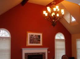 pictures of rooms with two different colors painted living room