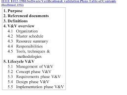 software verification and validation plan template ieee barcode